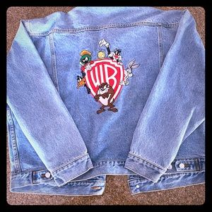 Warner Brothers Jean Jacket Vintage 2XL  XXL